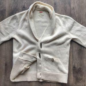 Vintage Levi's Knitted Shawl Cardigan